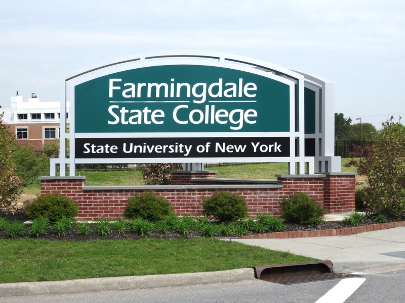 """Image for """"We Are FSC!"""": The Anthem for Farmingdale State College Students."""