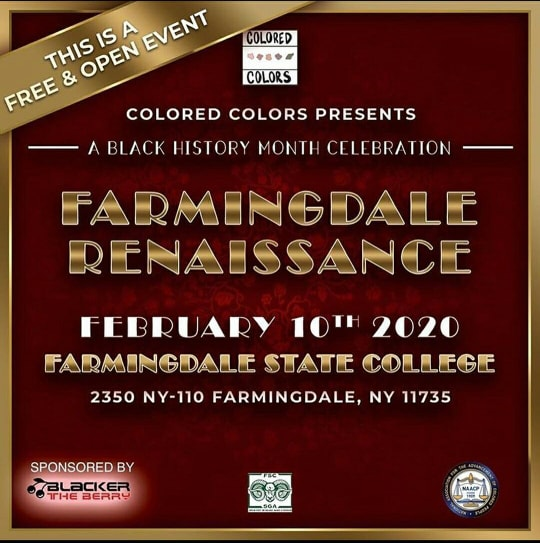 Image for The Farmingdale Renaissance Set to Take Place on February 10!.