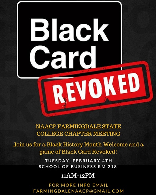 Image for First NAACP Meeting for Black History Month Set for Tuesday, February 4th!.