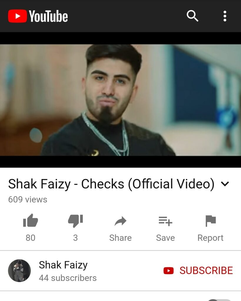 "Image for Shak Faizy's Official ""Checks"" Music Video Is Out Now!!!."
