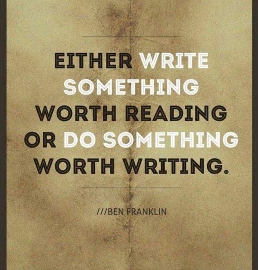 Image for Dale News Motive: Write Something Valuable.