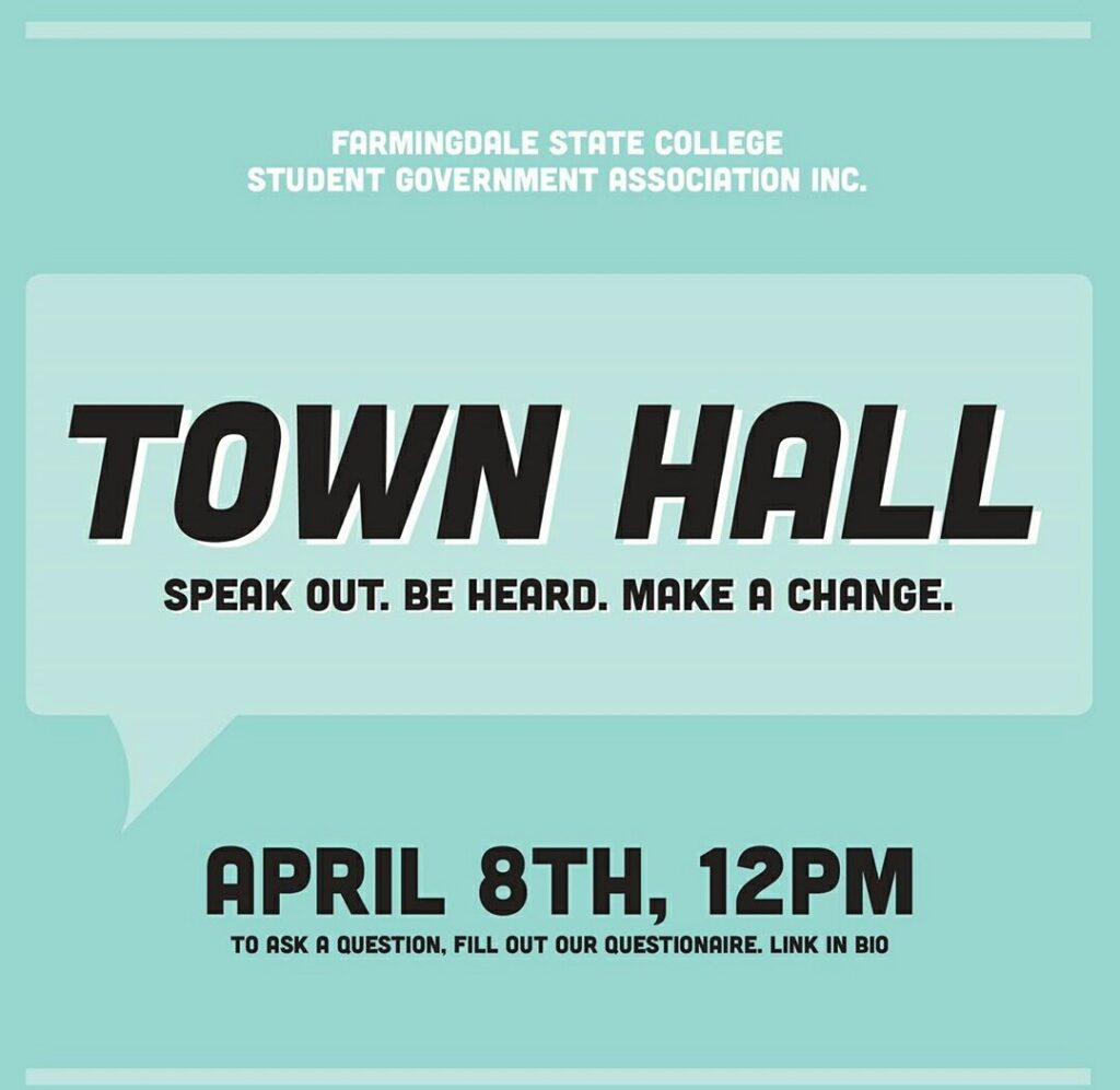 Image for FSC's Student Government Association to Host Pandemic Town Hall Today!.