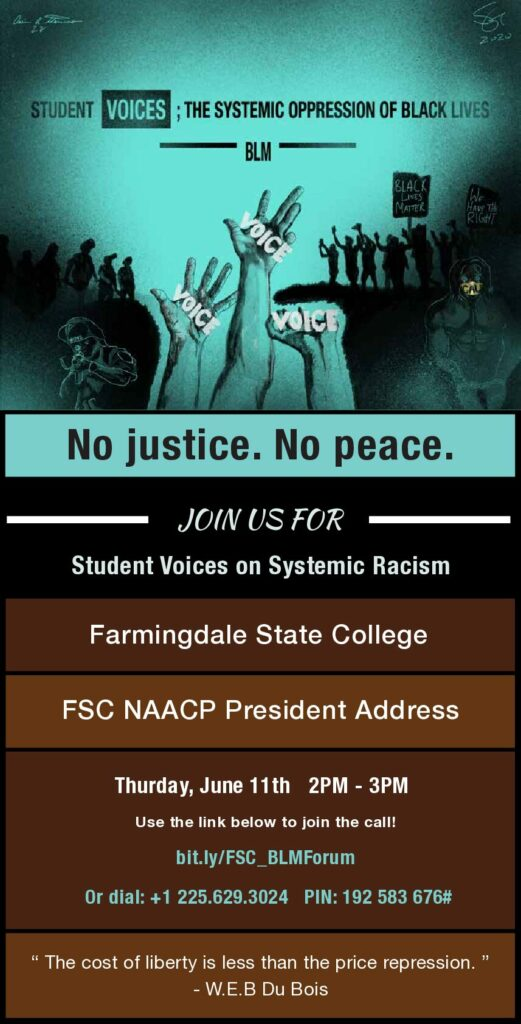 Image for Black Lives Matter Town Hall Forum.