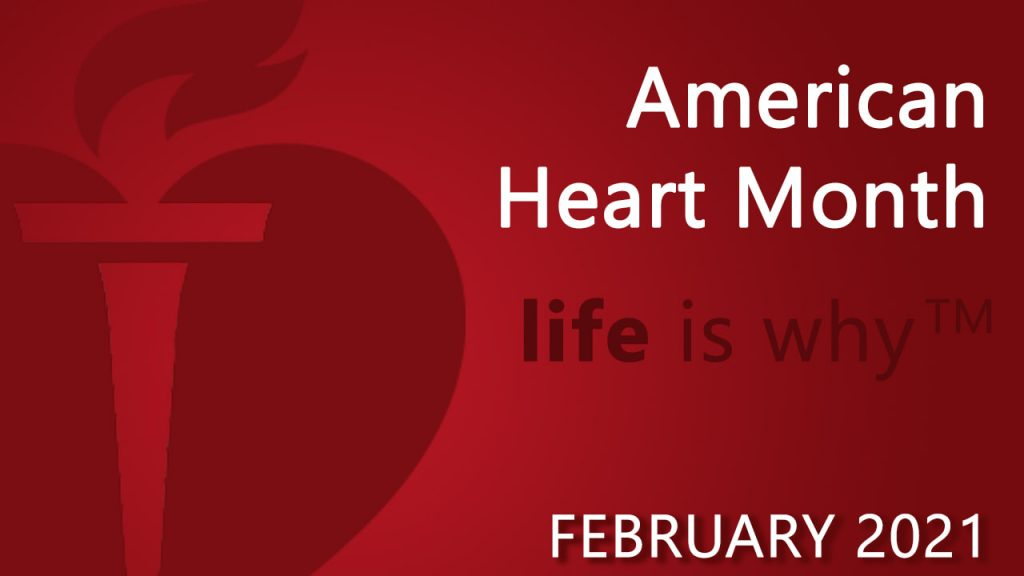Image for Heart Awareness Month.