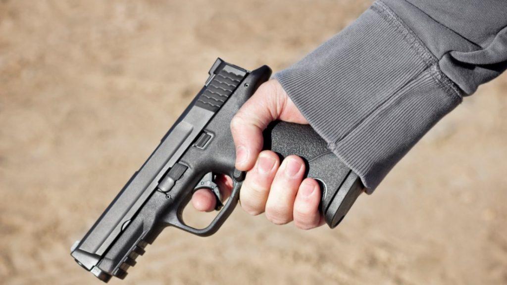 Image for Gun Violence Soars.